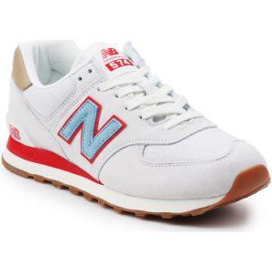 new balance 574 rouge et blanche
