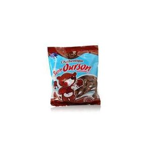 Cémoi Sachet l'Authentique Petit Ourson Guimauve au Chocolat au Lait 180 g - Lot de 5