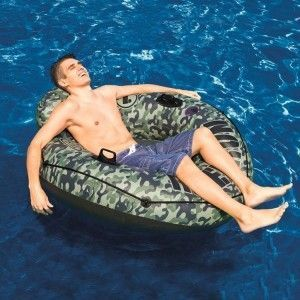 """Intex Fauteuil Gonflable """"River Run"""" 135cm Camouflage"""
