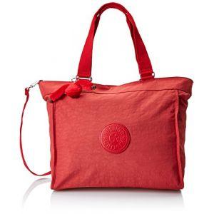Kipling New Shopper L, Sacs bandoulière femme, Rouge (Spicy Red C), 15x24x45 cm (W x H x L)