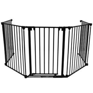 Baby Vivo Barrière de sécurité en métal pour cheminée (390 x 77 cm)