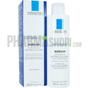 La Roche-Posay Kerium - Shampooing-gel pour pellicules grasses