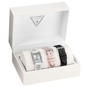 Guess W12099L - Coffret montre pour femme avec trois bracelets