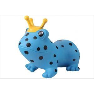 Inovtex Animal sauteur : grenouille bleue