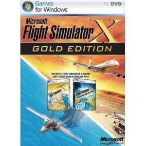 Flight Simulator X gold edition [PC]