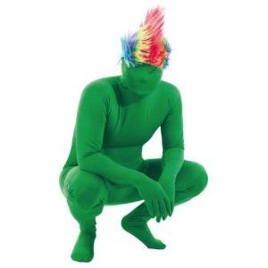 Party Pro Déguisement Frottman seconde peau vert adulte