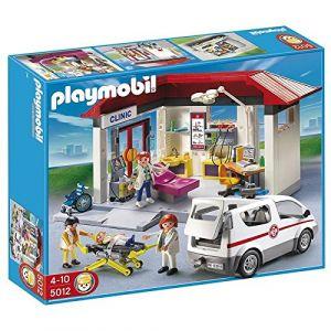 Playmobil 5012 : Clinique Avec Ambulance Et Médecin
