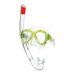 Seacsub SEAC Masque et Tuba de plongée Ischia Silter - Médium - Jaune