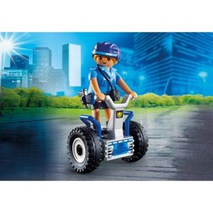 Playmobil 6877 City Action - Policière avec gyropode