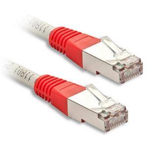 Lindy 45108 - Câble réseau Patch croisé Cat.6 S/FTP 15 m.