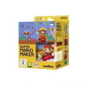 Super Mario Maker + Amiibo 'super Mario Bros' - Mario Classique : Rouge - Edition Limitée [Wii U]