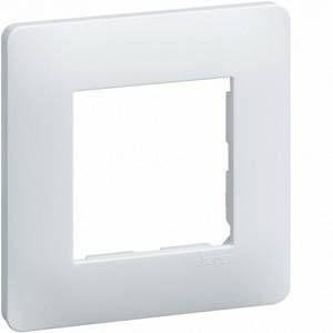 Hager Essensya plaque 1 poste blanc (WE401)