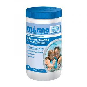 Marina Mini galets 20g de chlore pour petites piscine - 1,2kg
