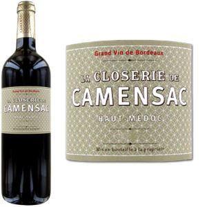 La Closerie de Camensac 2011 - Vin rouge de Bordeaux (AOC Haut Médoc