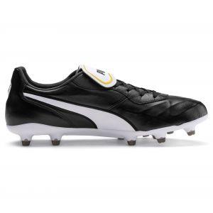 Puma King Top FG, Chaussures de Football Mixte Adulte, Black White, 9.5 EU