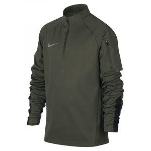 Nike Haut d'entraînement de football Shield Squad pour Garçon plus âgé - Olive - Couleur Olive - Taille L