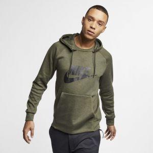 Nike Sweat à capuche graphique Sportswear Optic pour Homme - Olive - Taille M