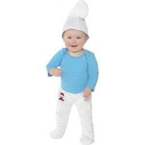 Déguisement Schtroumpf bébé (6-12 mois)