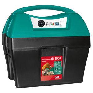 Ako Electificateur sur batterie mobil Power AD 3000 digital GPS