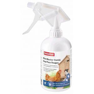Beaphar Stop poux rouges, spray pour L'animal et L'environnement - 500 ml