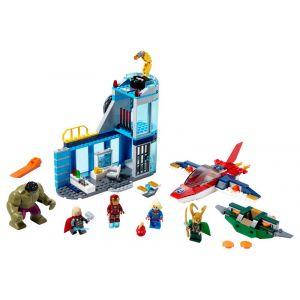 Lego Marvel Super Heroes La colère de Loki - 76152, Jouets de construction