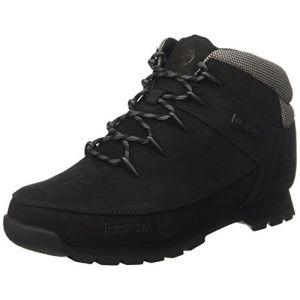 Timberland Euro Sprint Hiker, Bottes Chukka Homme, Noir (Black 001), 45 EU