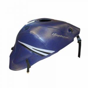 Bagster Tapis de réservoir bleu fonce/deco acier/noir (1567B) Suzuki GSX1300 R Hayabusa