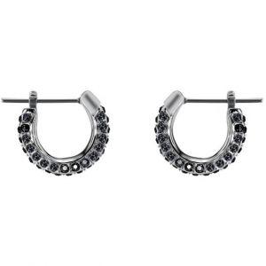 Swarovski Boucles d'oreilles Bijoux 5446023 - Acier Noir Cristaux Femme