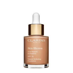 Clarins Skin Illusion Natural Hydrating Foundation 112 Amber (30 ml)