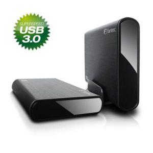 "Fantec 14340 - Disque dur externe 3.5"" DB-ALU3 500 Go SATA USB 3.0"