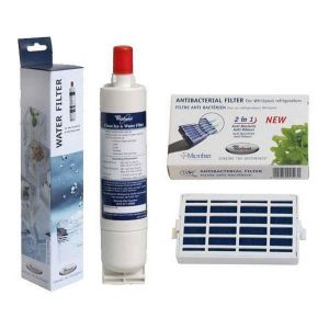 Whirlpool Pack 1 filtre MICROBAN 481248048172 + 1 filtre SBS002 481281729632