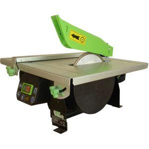Build Worker Coupe carrelages 720 W Diametre du disque 180 mm Vitesse 2990 trs/min Hauteur de coupe max 34 mm Inclinaison 45° Dimensions table 420 x 400 mm Garantie 3 ans