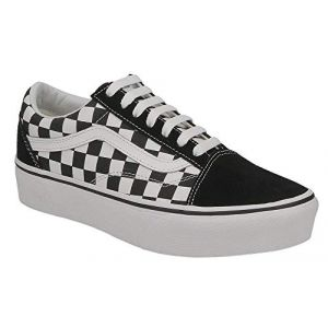 Vans Old Skool Platform Chaussures Checkerboard