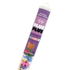 Plus Plus Tube Mini Pastel Mix 100 pièces