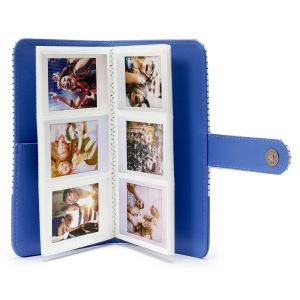 Fujifilm Instax Mini 9 Striped Album bleu à rayures 108 photos