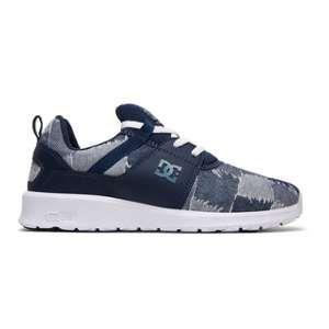 DC Shoes Heathrow TX LE - en cuir pour Femme - Bleu