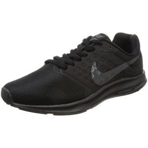 Nike Wmns Downshifter 7, Chaussures de Course Femme, Noir (Black / Metallic Hematite / Anthracite), 38 EU