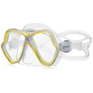 Mares Masque de plongée Unisexe X Vision Taille Unique Yellow/White/Clear