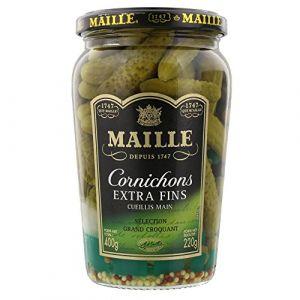 Maille Cornichons Extra Fins Cueillis Main - Le Pot 220 g