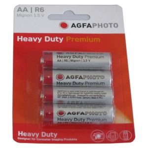AgfaPhoto Blister 4 piles LR6/AA 460mAH