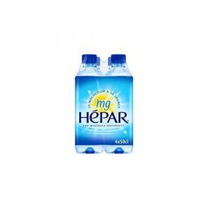 Hépar Eau minérale naturelle - Les 4 bouteilles de 50cl