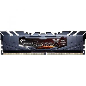 G.Skill F4-2400C15Q2-128GFX - Flare X Series 128 Go (8x 16 Go) DDR4 2400 MHz CL15