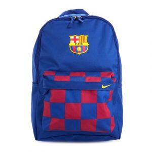 Nike FC Barcelone Sac à Dos Stadium - Bleu Marine/Bordeaux/Jaune - Bleu - Taille One Size