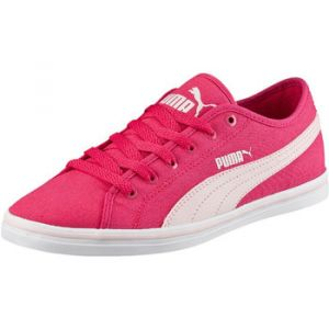 Puma Elsu V2 CV, Baskets Mode Garçon - Rouge (Rose Red/Pink Dogwood), 30 EU (11.5 UK)