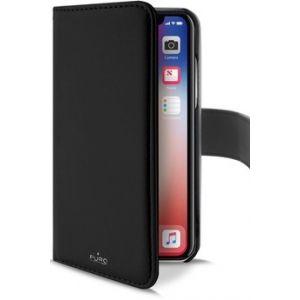Puro Folio magnétique noir pour iPhone Xr