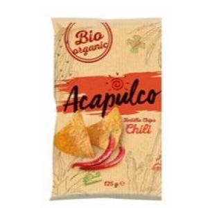 Poco loco Tortilla chips bio chili 150g bio