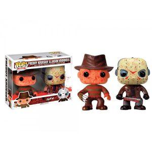 Funko Figurines Pop! Horror : Jason & Freddy Bloody (10 cm)