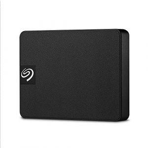 Seagate Expansion Noir - Disque SSD externe 500Go