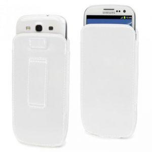 Muvit Housse et étui pour téléphone mobile Blanc