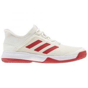 Adidas Adizero Club Kid EU 38 Off White / Scarlet / Footwear White - Off White / Scarlet / Footwear White - Taille EU 38